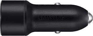 Carregador Veicular Ultra Rapido Duas Saídas Preto Sem Cabo Samsung 5006.0
