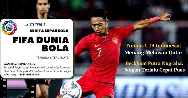 timnas u19 indonesia melawan qatar