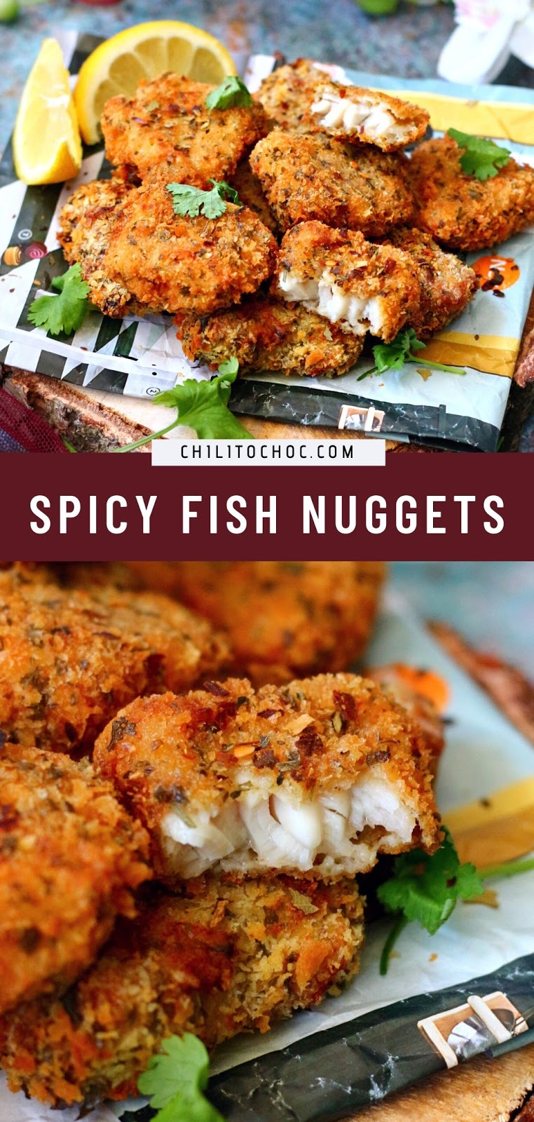 Spicy Fish Nuggets Pinterest