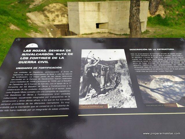 que es un fortín y visitarlos cerca de Madrid