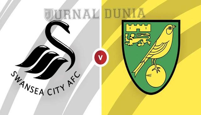 Prediksi Swansea City vs Norwich City , Sabtu 06 Februari 2021 Pukul 03.15 WIB