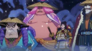 ワンピースアニメ 992話 ワノ国編   ONE PIECE 赤鞘の侍