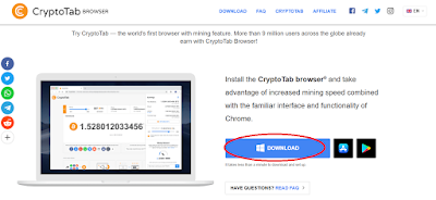 Download CryptoTab Browser