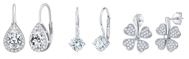 Stříbrné náušnice Šperky LeClay