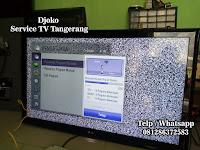 service TV panggilan curug