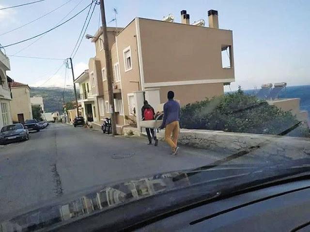 Λαθρομετανάστες έκαναν πλιάτσικο στη Σάμο