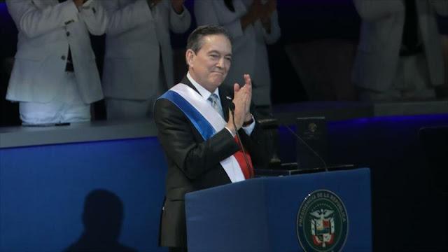 """Asume Cortizo Presidencia de Panamá y promete """"recatar"""" el país"""