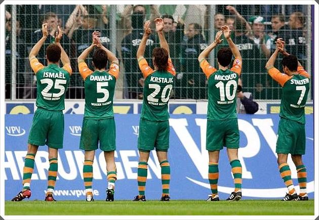 Werder Bremen Ismaël Davala Krstajic Micoud Stalteri
