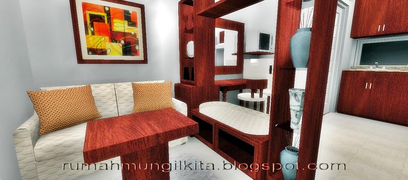 Penataan Rumah Dengan Konsep Satu Ruang Banyak Fungsi Tamu