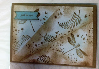 Retiform technique just for you by Pat zena kennedy independent stampin up demonstrator
