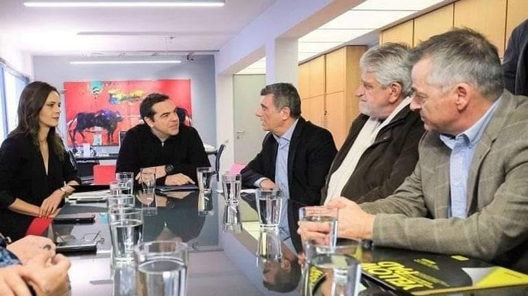 Συνάντηση της ΟΤΟΕ με τον Αλέξη Τσίπρα για τις εξελίξεις στον Τραπεζικό Κλάδο