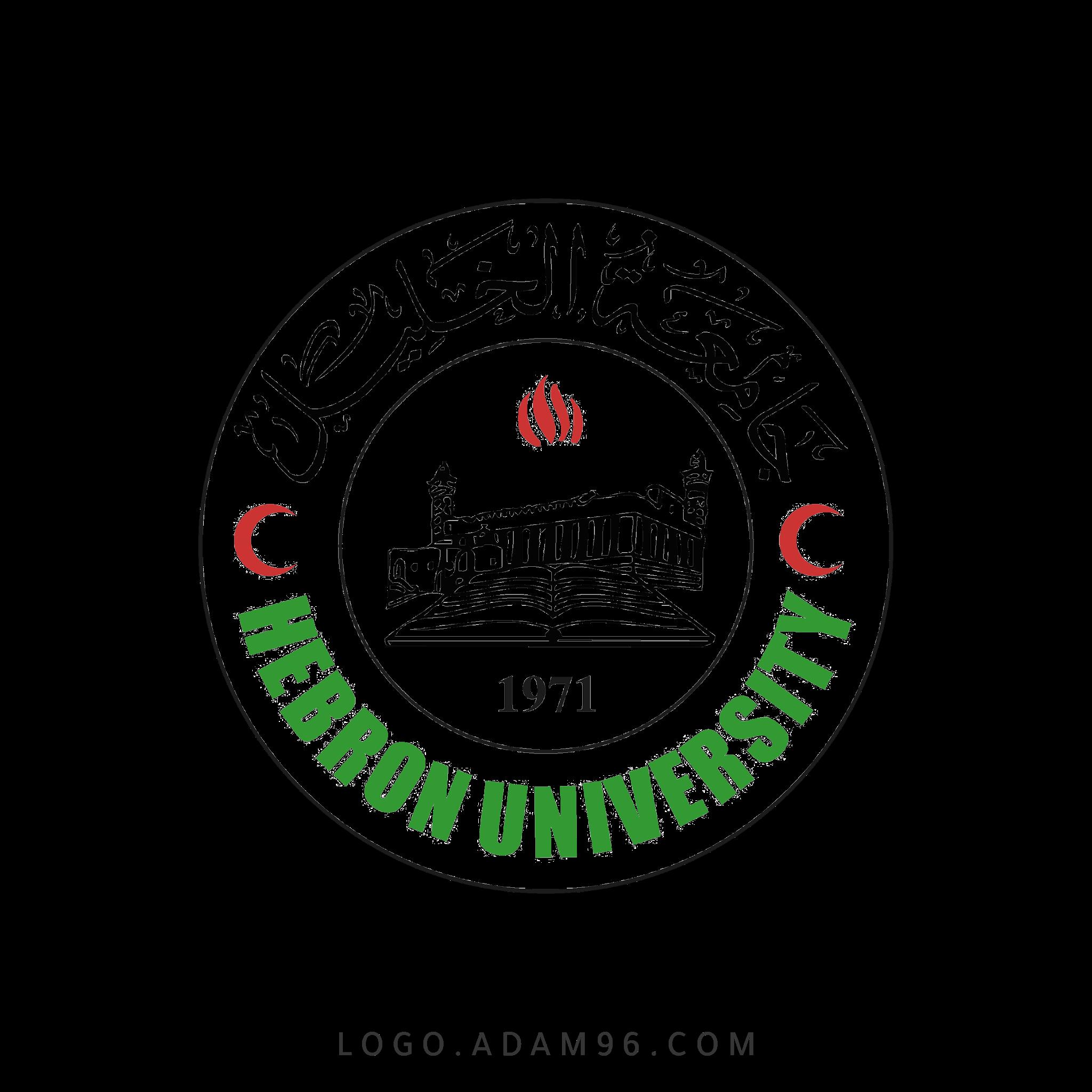 تحميل شعار جامعة الخليل لوجو شفاف عالي الدقة بصيغة PNG