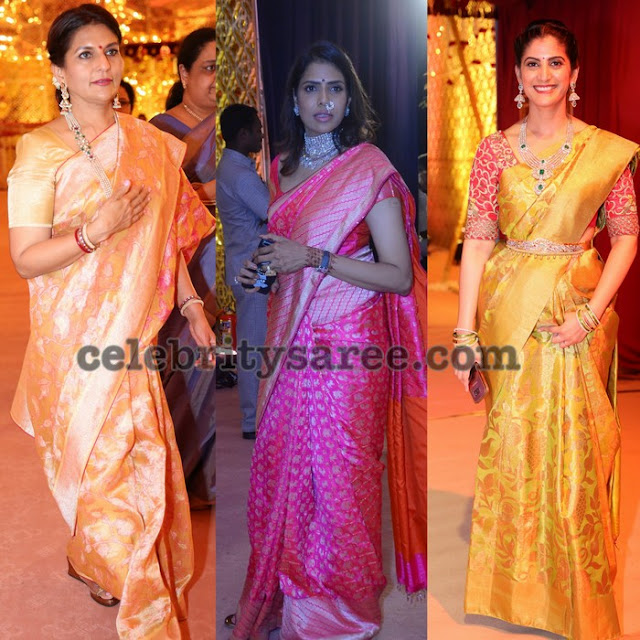 Rich and Grand Uppada Benaras Sarees
