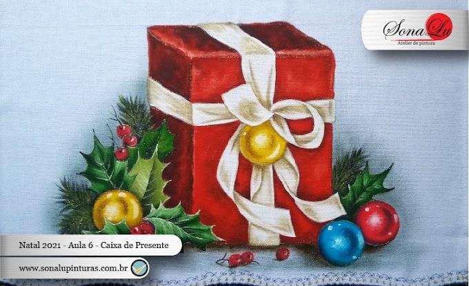 Natal 2021 - Aula 6 - Caixa de Presente de Natal