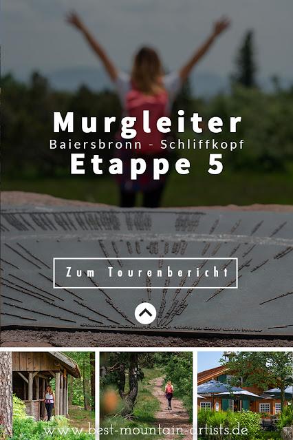 Premiumwanderweg Murgleiter | Etappe 5 von Baiersbronn zum Schliffkopf | Wandern nördlicher Schwarzwald 04