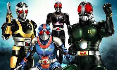 Kamen Rider Pertama Yang Banyak Transform