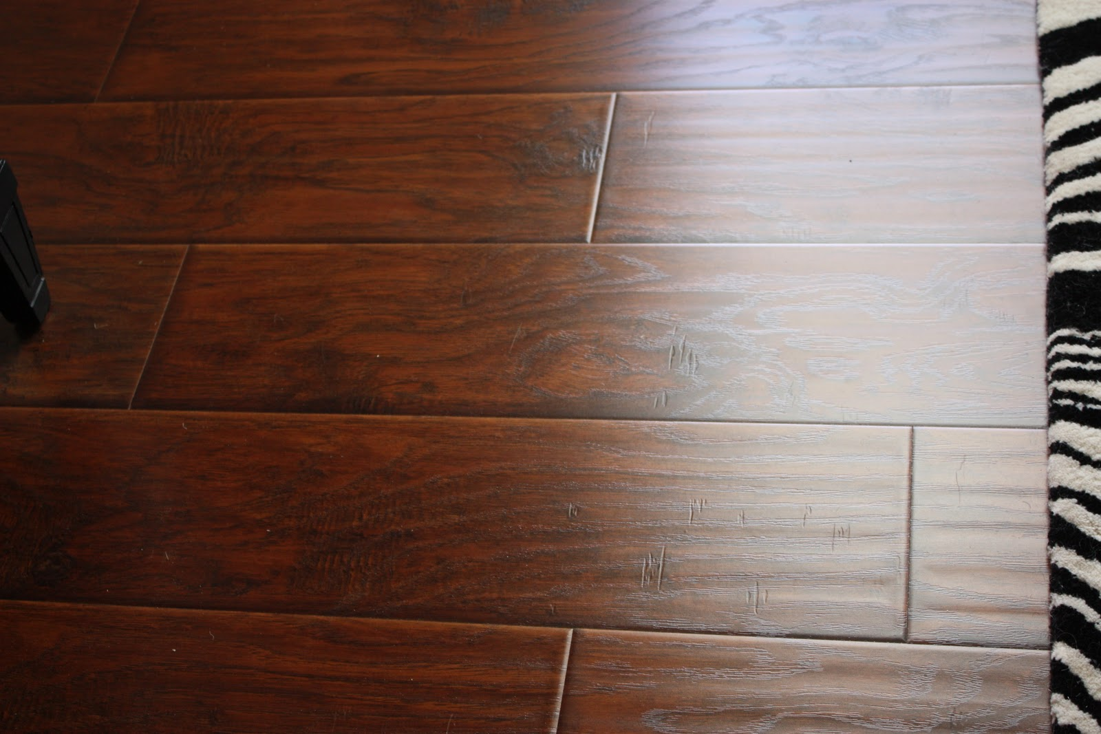 The yellow cape cod 31 days of building character wood floors - Laminate or wood flooring ...