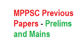 MPPSC Previous year question papers