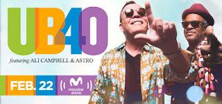 Concierto de UB40 en Bogotá