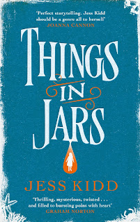 Things In Jars by Jess Kidd book cover