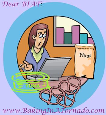 Dear BIAT | graphic designed by and property of www.BakingInATornado.com | #MyGraphics