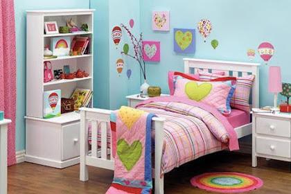 62 Desain Kamar Tidur Anak Perempuan Sederhana Yang Nampak Cantik dan Ceria