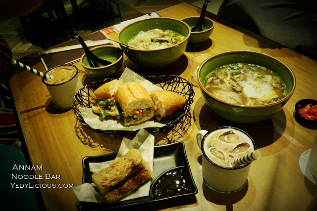 Annam noodle bar eastwood libis yedylicious manila food for Annam vietnamese cuisine