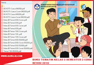 GAMBAR buku K13 kelas 3 semester 2 edisi revisi 2018