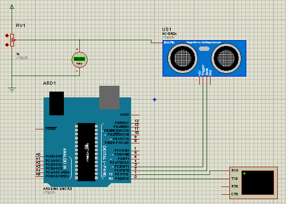Tutorial Arduino Project How To Measure Distances With