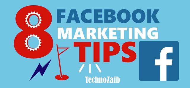 8 Facebook marketing tips