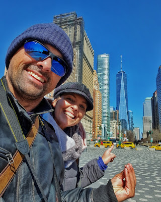 Lower Manhattan em Nova York
