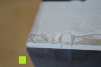 Ecke: Eurosell Holz Schreibtischorganizer Brief Post Ablage Briefablage Postablage Briefständer Vintage Retro Design Designer Dokumenten Prospekte Ständer