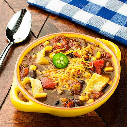 Taco Soup with Chicken