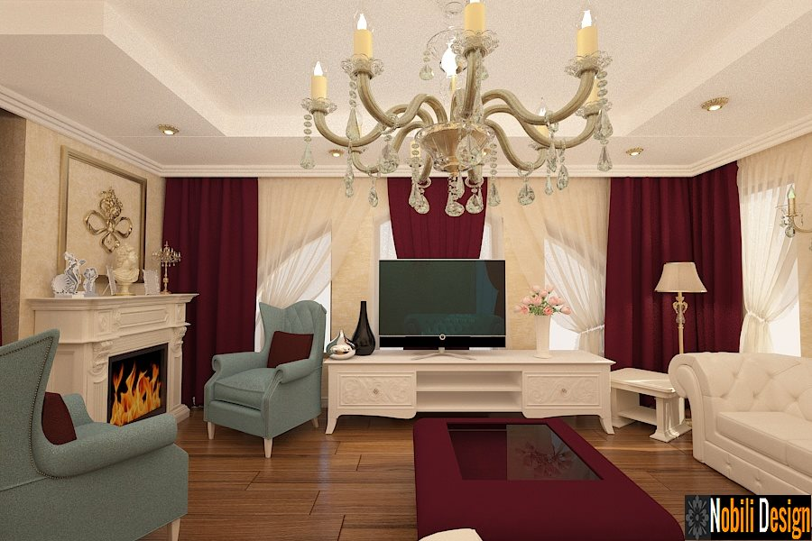 Interior design classic Paris luxury house style ~ Interior design online.