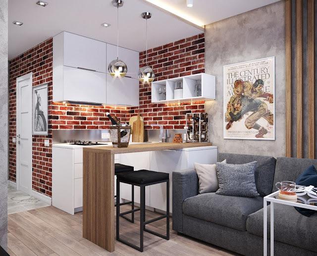 Hình ảnh thiết kế nội thất chung cư phong cách hiện đại P3