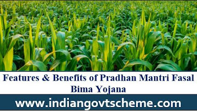 BENEFITS TO FARMERS UNDER PMFBY