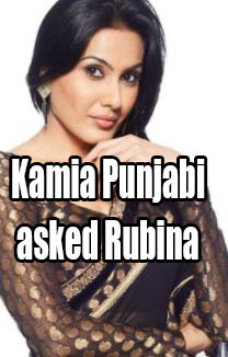 Kamia Punjabi asked Rubina why she was making friends in bigg boss