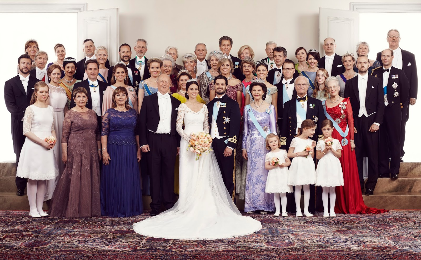 Real Royal Weddings: Royal Weddings 2015: The Official Photos