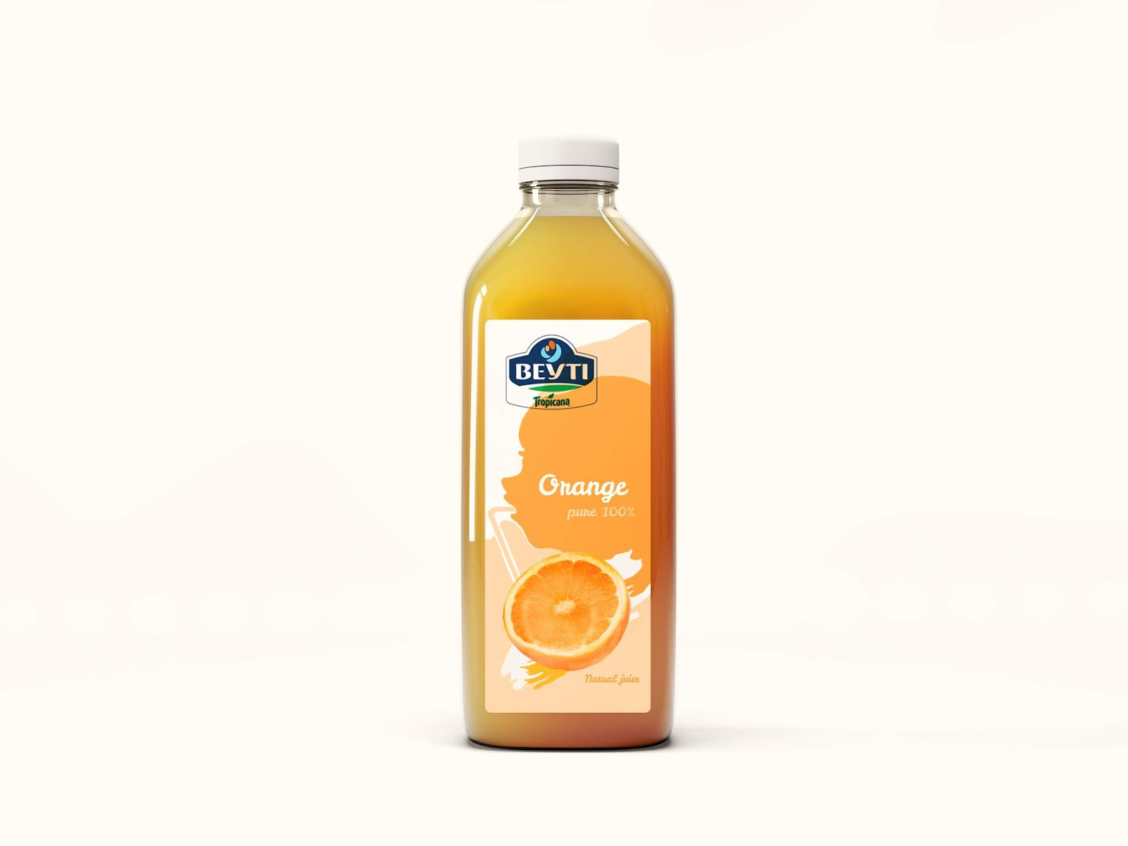 BEYTI Natural Juice on Packaging of the World - Creative