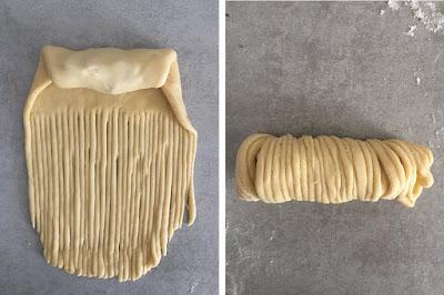 Wool roll bread - Tutorial formatura