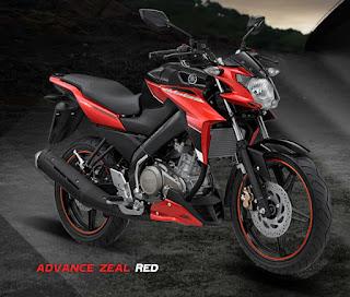 Yamaha Vixion Advance Stizza Zeal Red