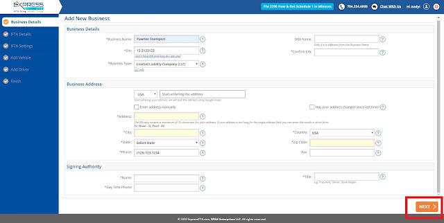 Using ExpressIFTA for IFTA reporting