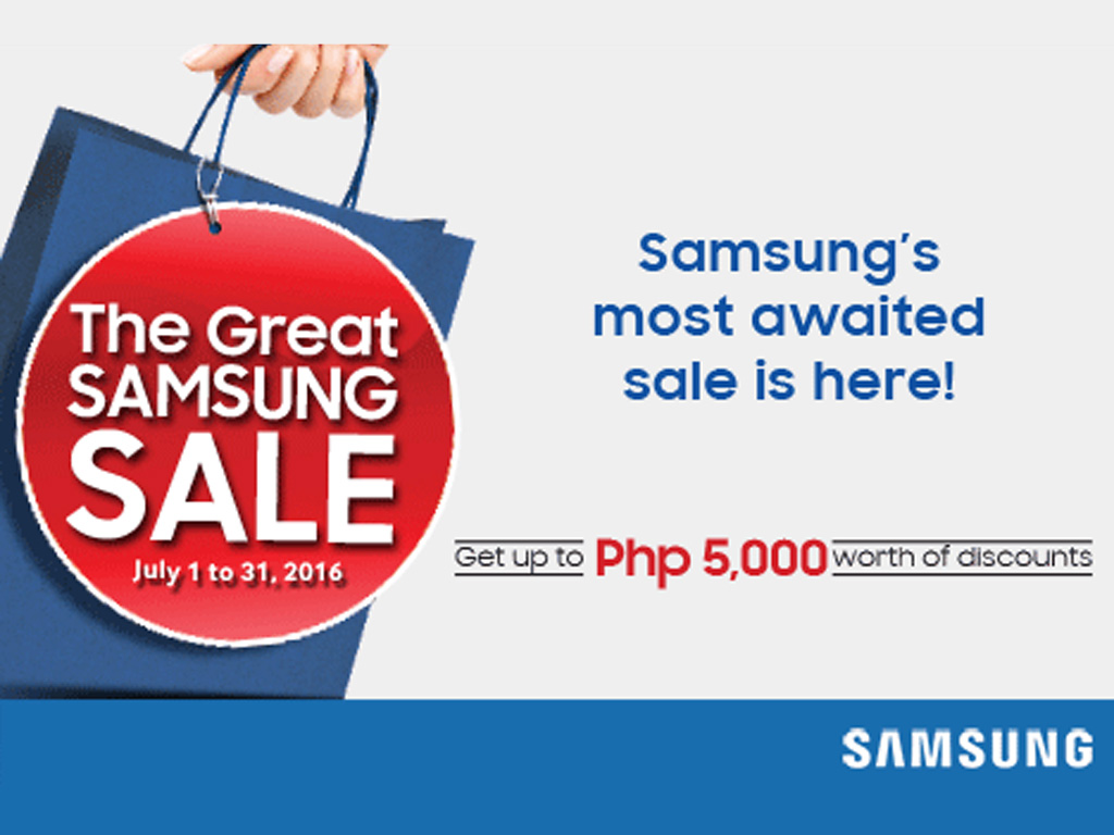 Great Samsung Sale July 2016