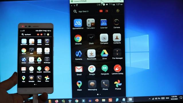 عرض شاشة الهاتف على الكمبيوتر إظهار شاشة الهاتف على الحاسوب show android screen on pc