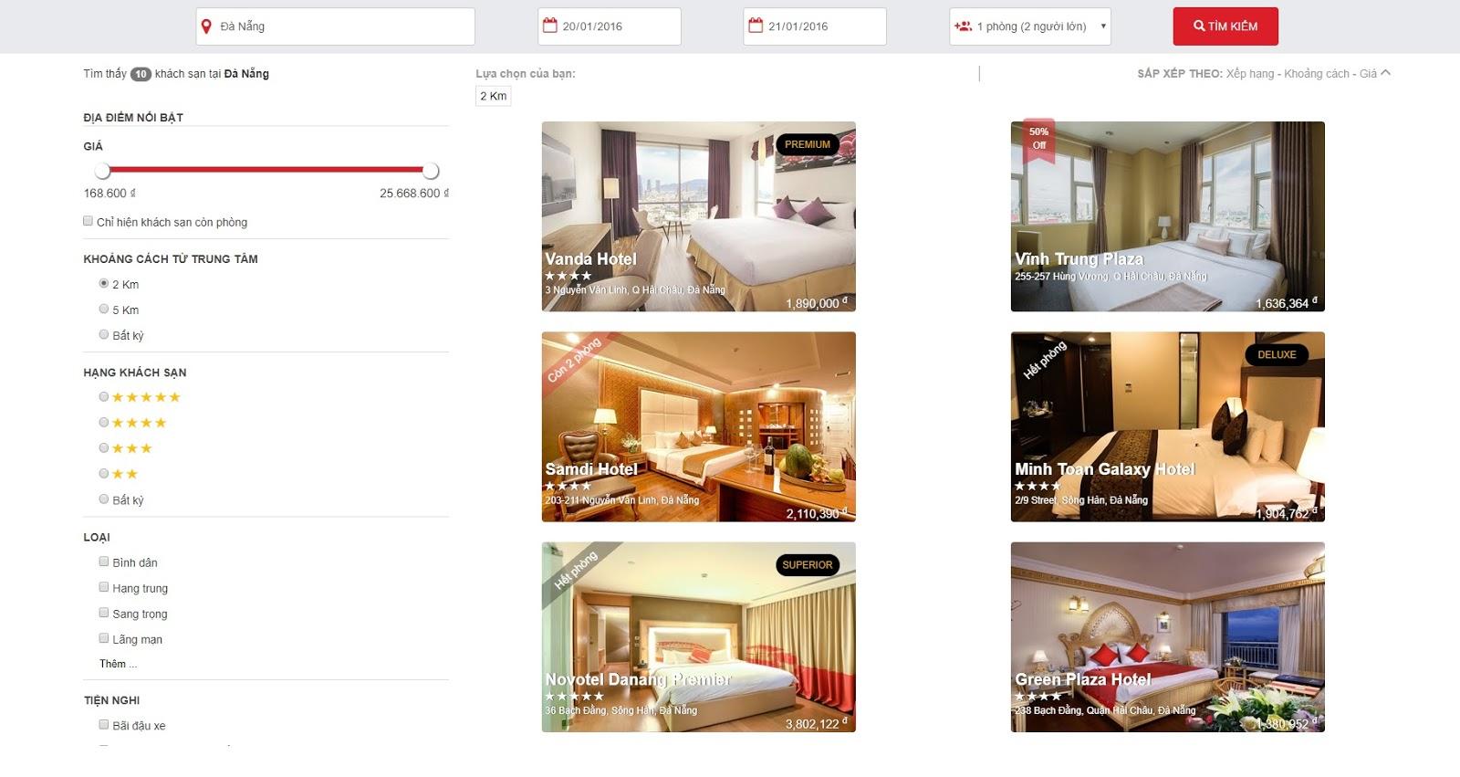 Web HTML Khách Sạn HTML Booking Hotel + Báo Cáo