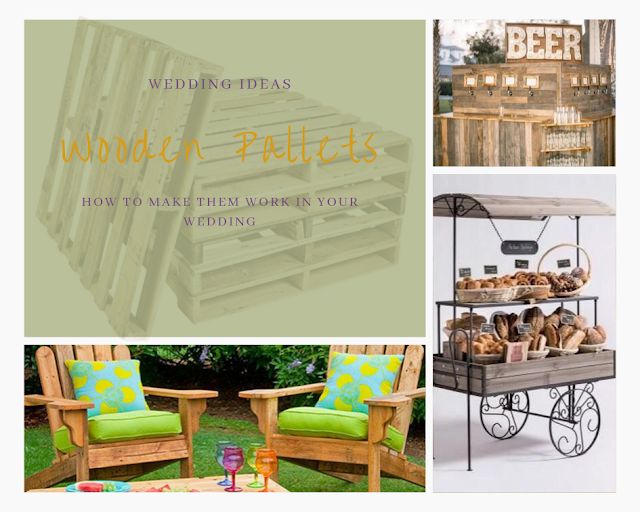 wedding ideas - wedding planning services - wooden pallets - wedding blog ideas by K'Mich - day of service planners in Philadelphia