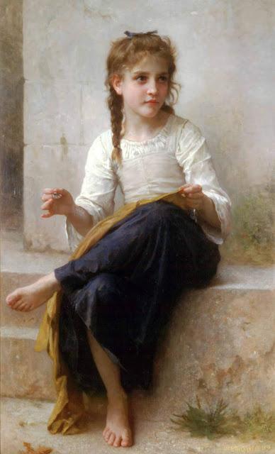 Адольф Вильям Бугро - Портниха (1898)