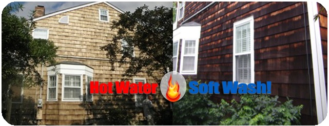 Pressure Washing in Salem, New Hampshire