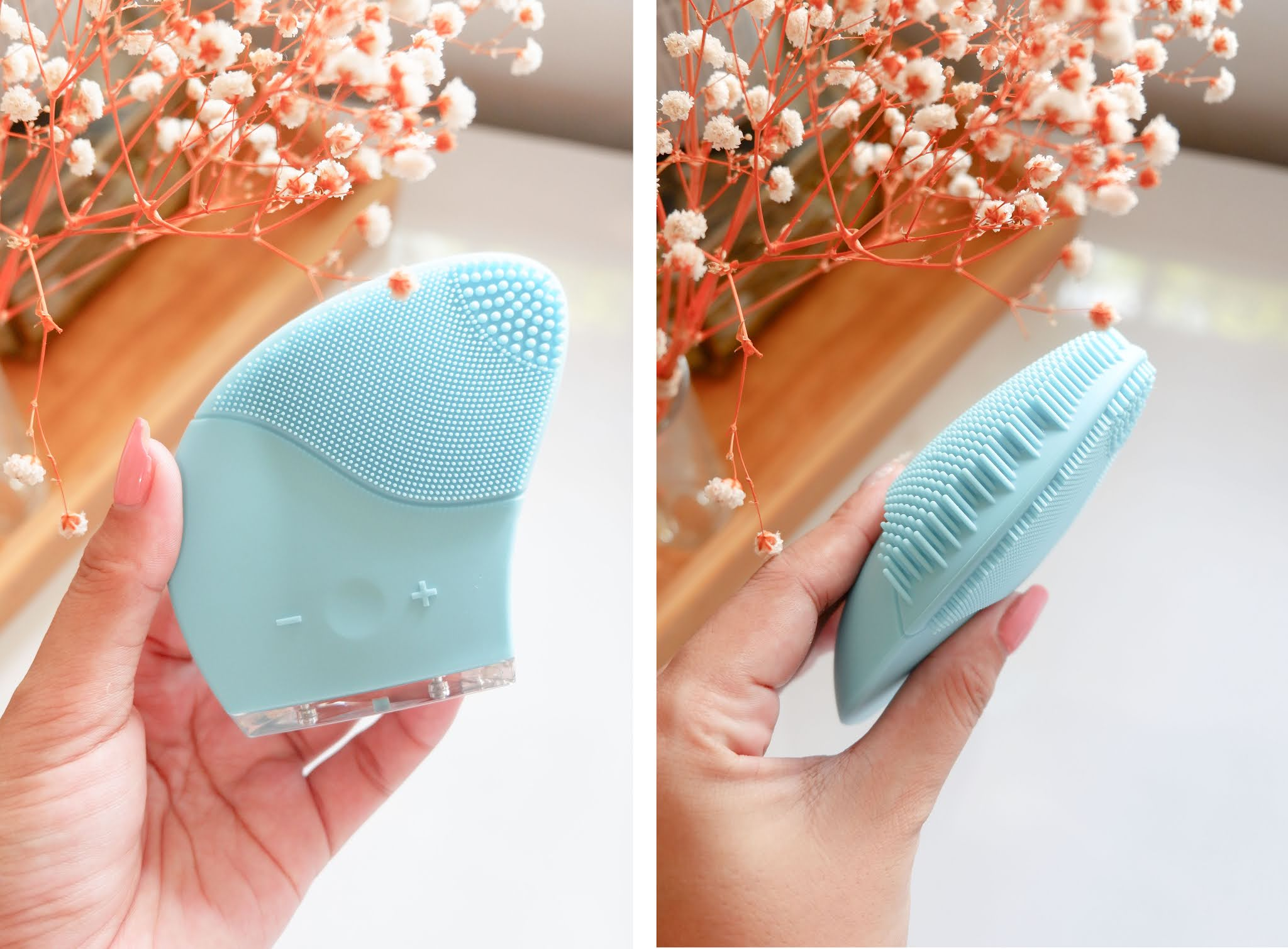 REVIEW OF ELUNARA BEAUTY AMBIENT JUPITER ULTRASONIC SILICONE FACIAL BRUSH