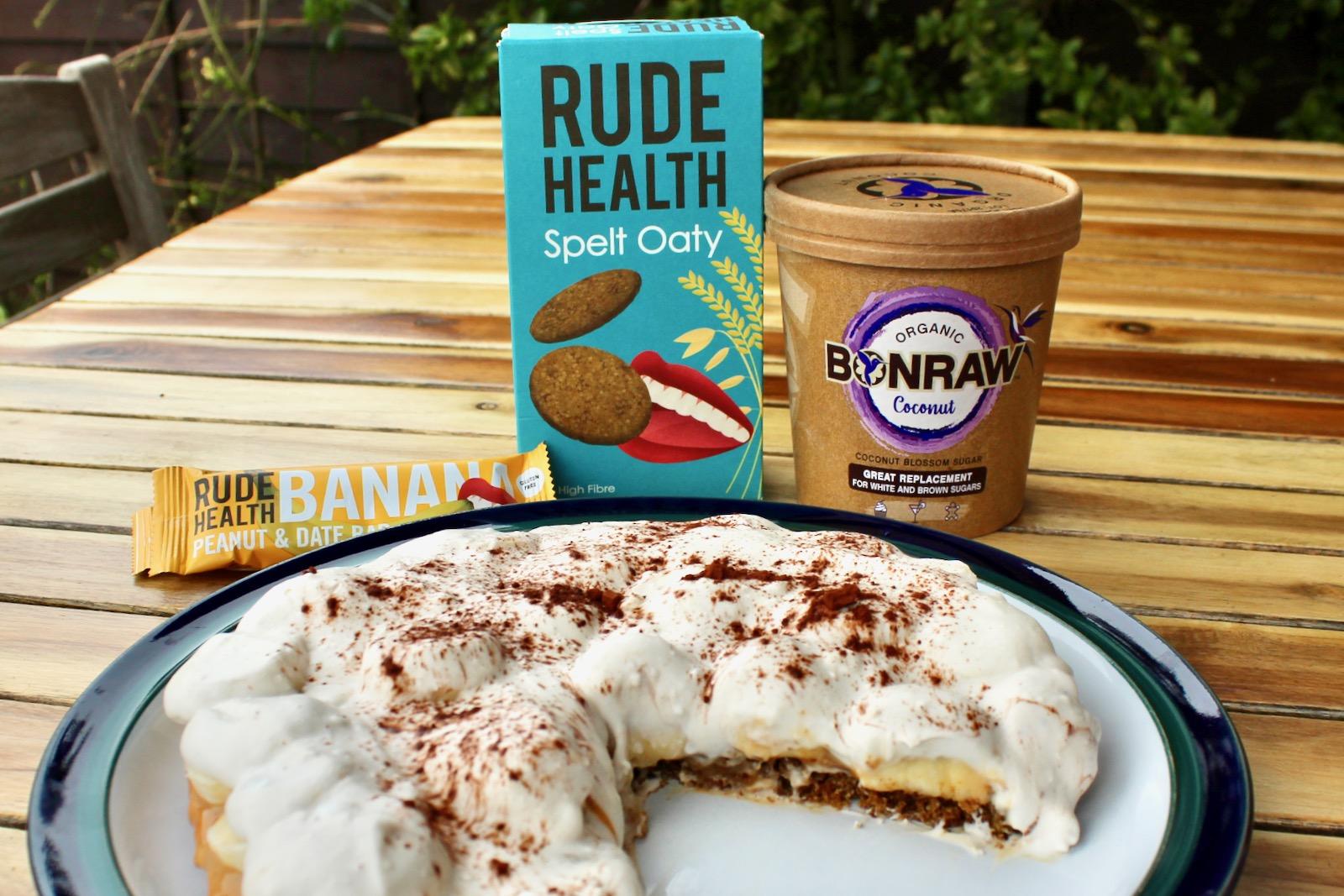 The Rude Alternative Banoffee Pie